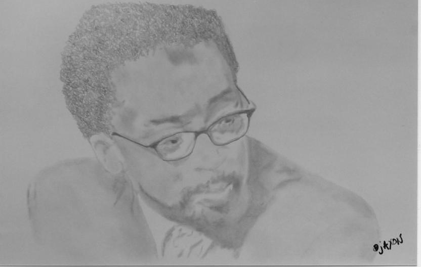 Director Drawing - Man Just Say Thank You by B Jaxon