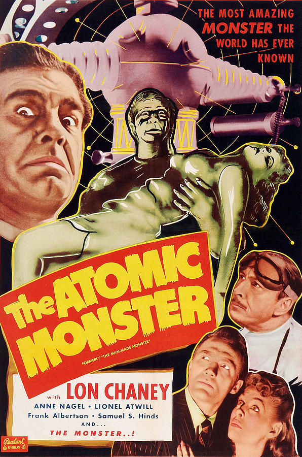 1940s Movies Photograph - Man Made Monster, Aka The Atomic by Everett