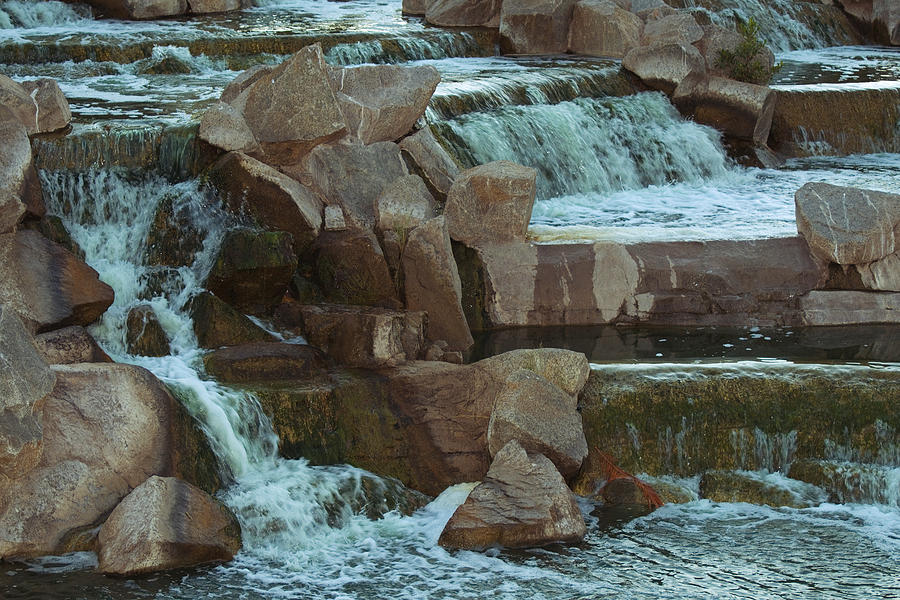 Waterfall Photograph - Man Made Waterfall by Richard Henne