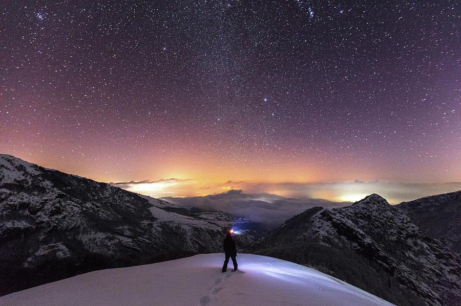 Balkan Mountains Photograph - Man On Mars by Evgeni Dinev