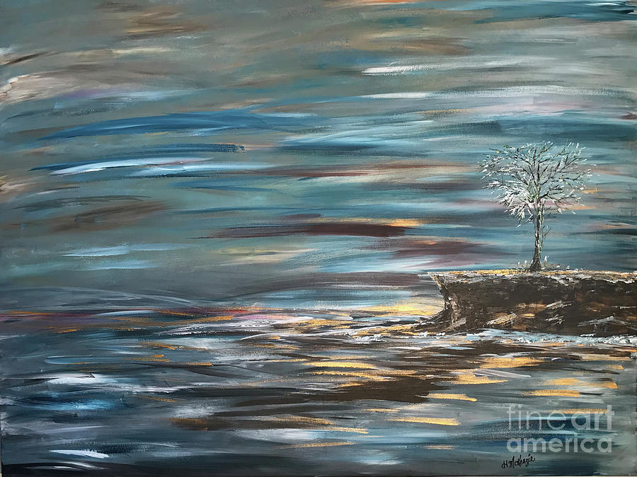 Man Overboard Part Two Painting by Heather McKenzie