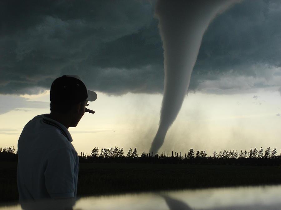 man vs nature photograph by justin hobson