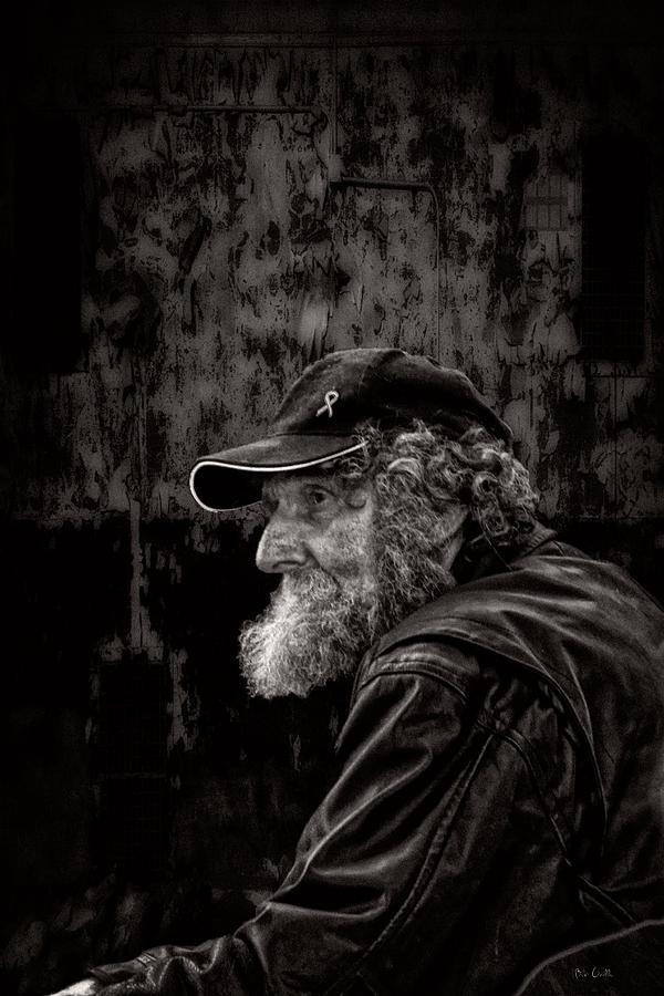 Beard Photograph - Man With A Beard by Bob Orsillo