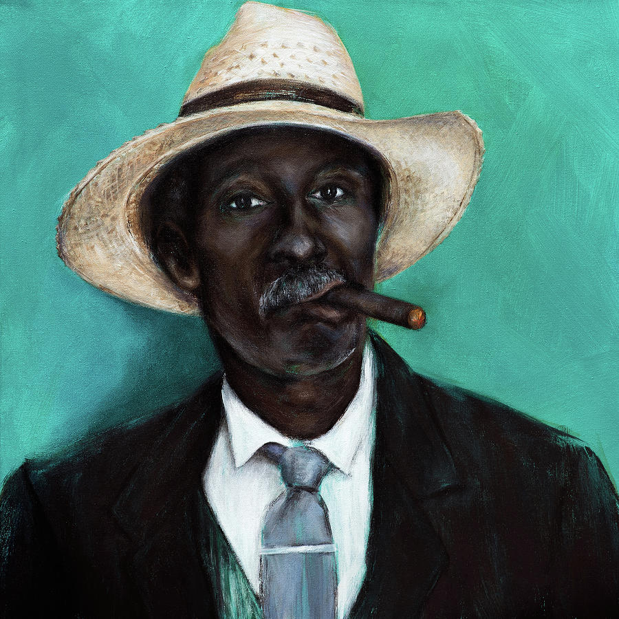 Man with Cigar by Nicole Daniah Sidonie