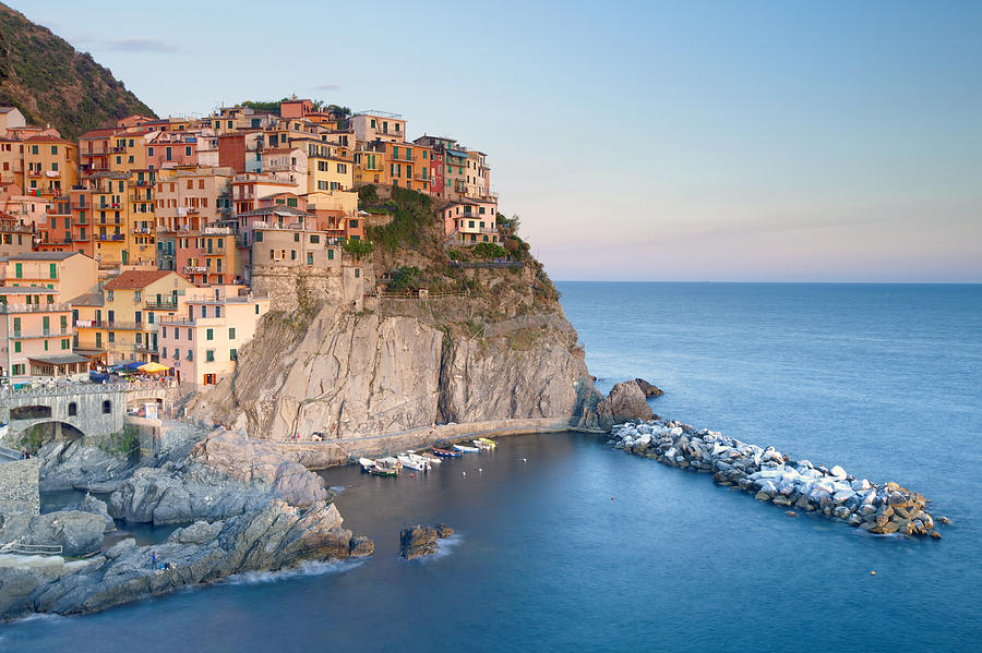 Abstract Photograph - Manarola by Andre Goncalves