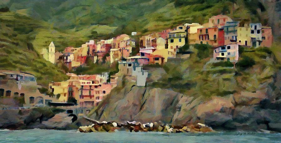 Manarola by Jeffrey Kolker