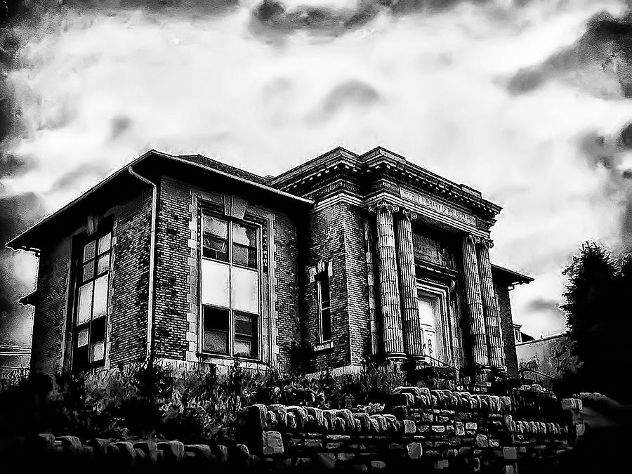 Manayunk Photograph - Manayunk Branch Of The Free Library Of Philadelphia by Bill Cannon