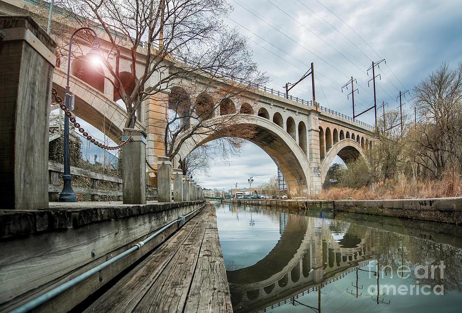 Manayunk Bridge Photograph - Manayunk Bridge by Stacey Granger