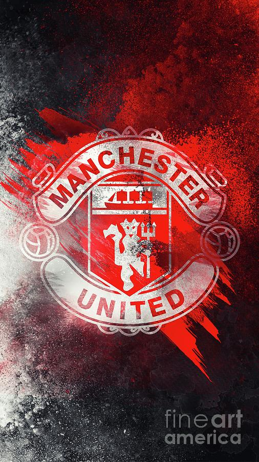 Manchester United Digital Art By Ivon Lionard