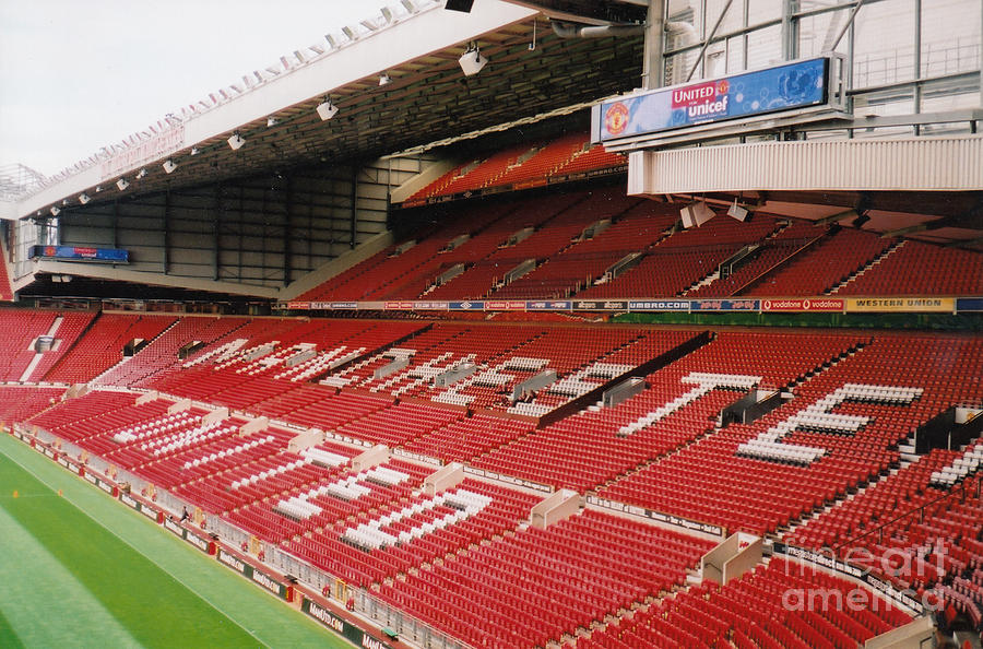 Manchester United Old Trafford North Stand 7 2001