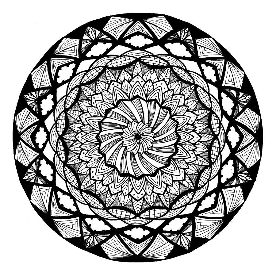 Mandala #10 - Dizzying Dimensions by Eseret Art