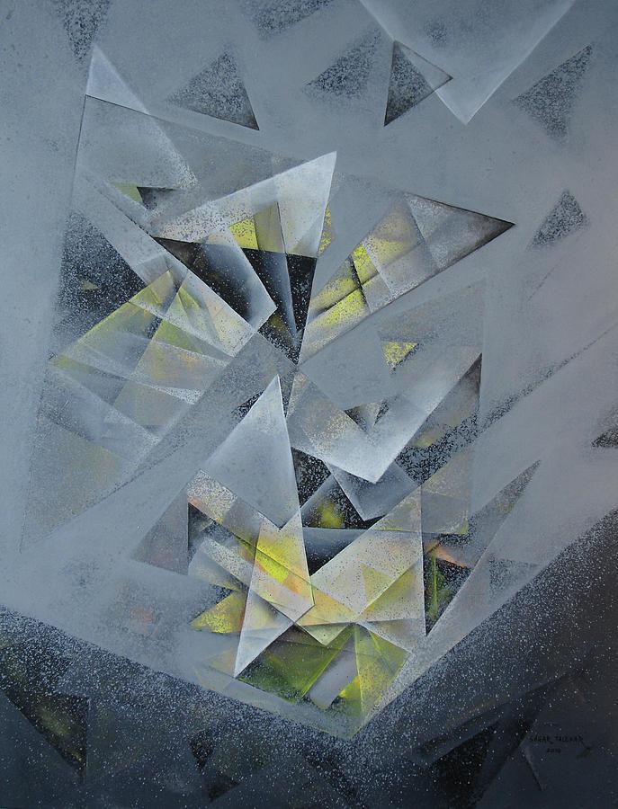 Abstract Painting - Mandala 11 by Sagar Talekar