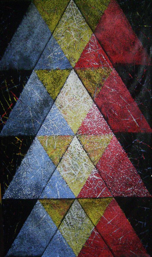 Abstract Painting - Mandala 19 by Sagar Talekar