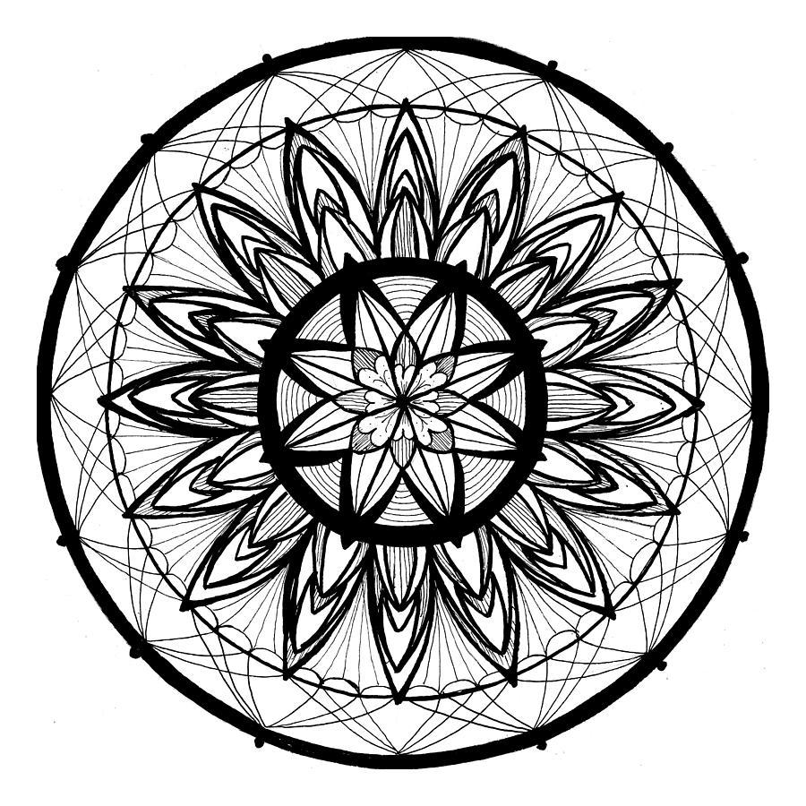 Mandala #2 - Threaded Beauty by Eseret Art