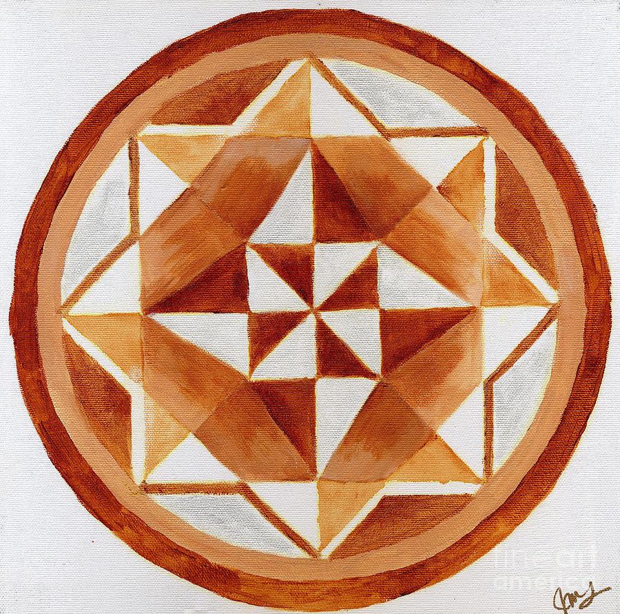 Mandala 21 by Julia Stubbe