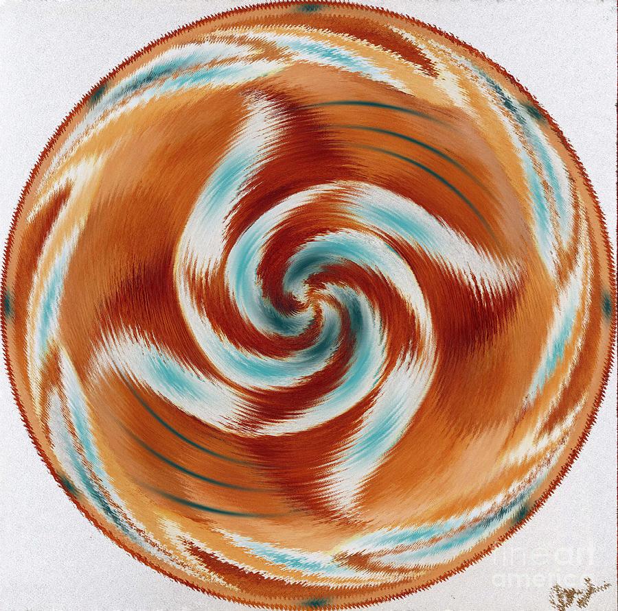 Mandala 211 by Julia Stubbe