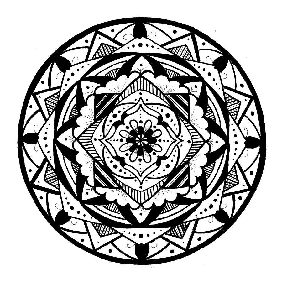 Mandala #3 - Lacy Layers by Eseret Art