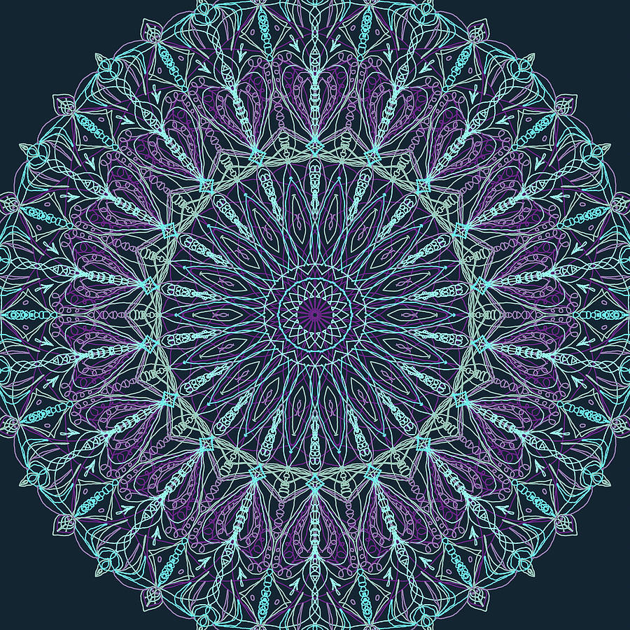 Mandala 4 by Ronda Broatch