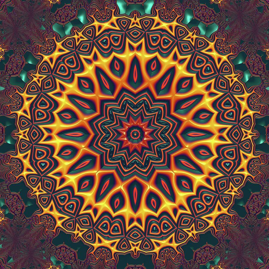 Light Digital Art - Mandala 574535675 by Robert Thalmeier
