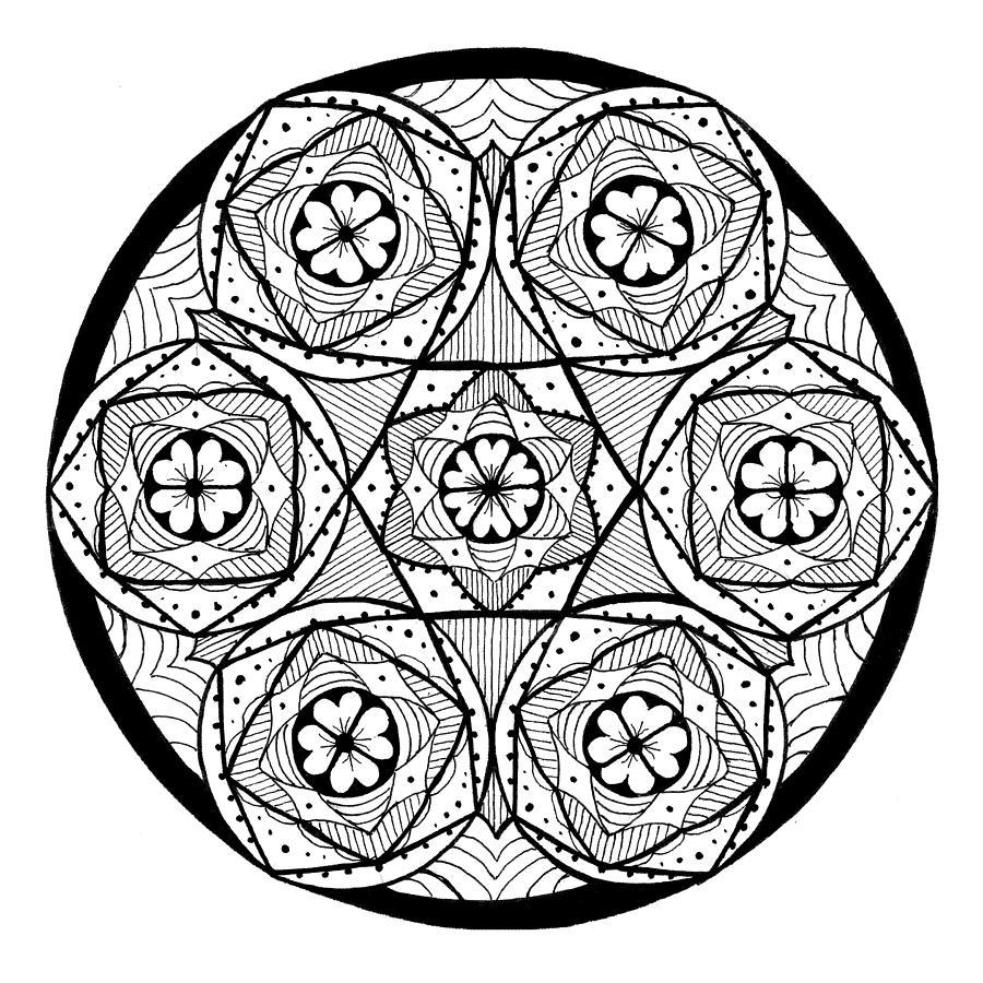Mandala #6 - Cinnamon Rolls by Eseret Art
