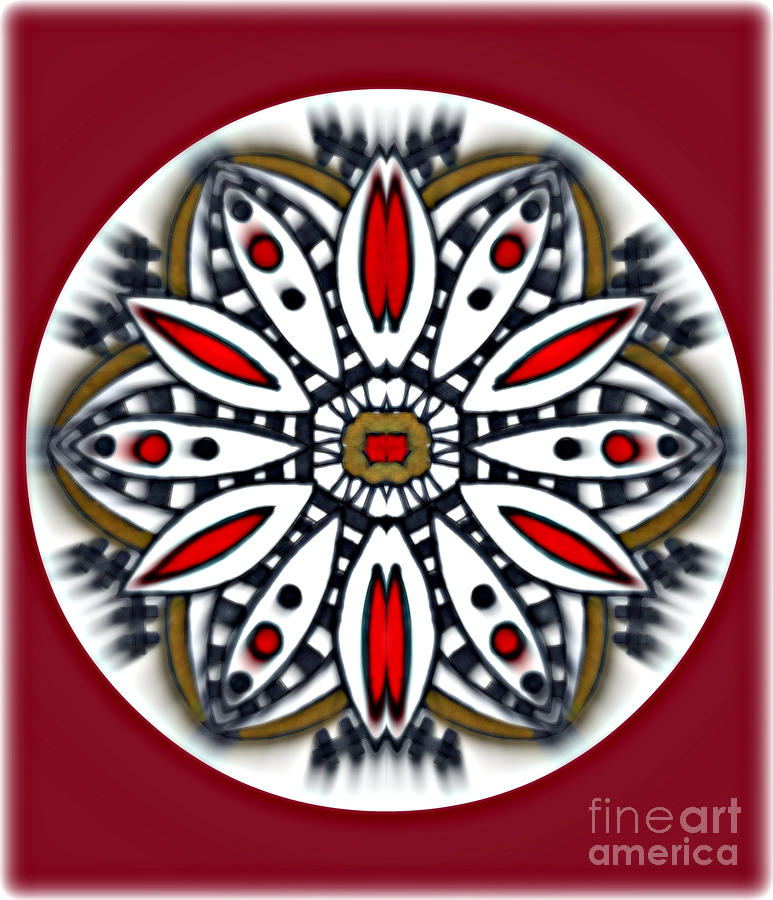 Mandala 66 Painting by Wbk