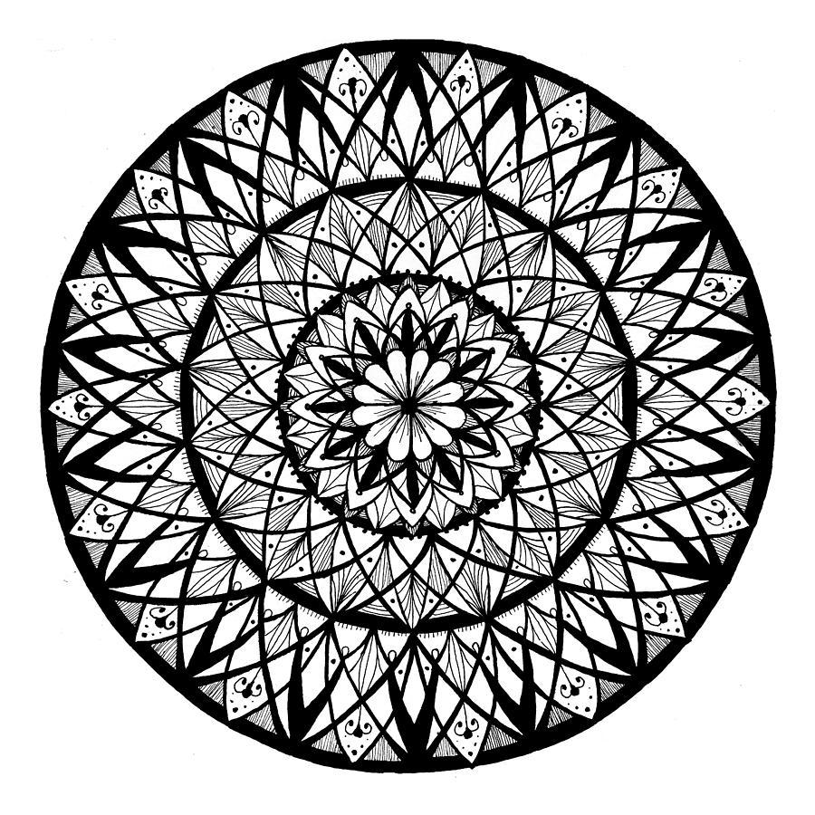 Mandala #8 - Insomnia Circles by Eseret Art