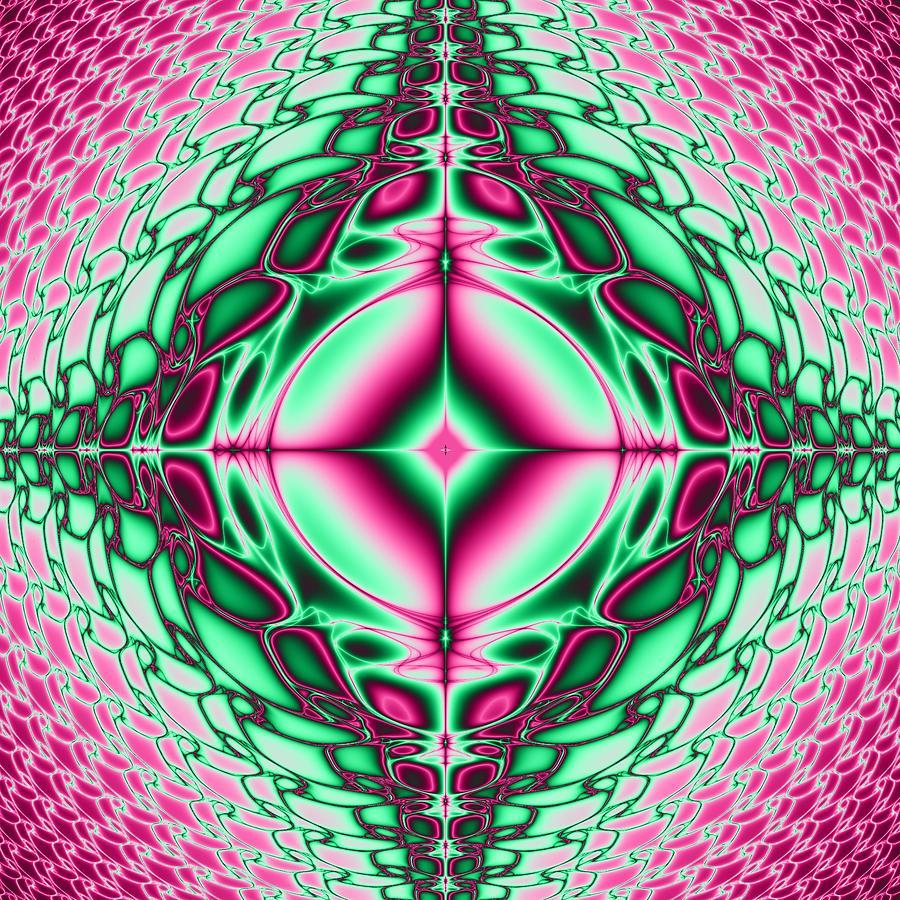Mandala Digital Art - Mandala 8 by Sfinga Sfinga