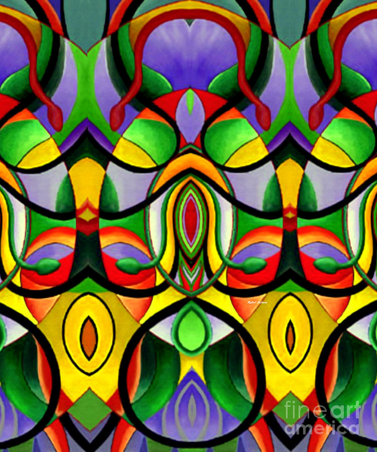 Mandala 9703 Digital Art by Rafael Salazar