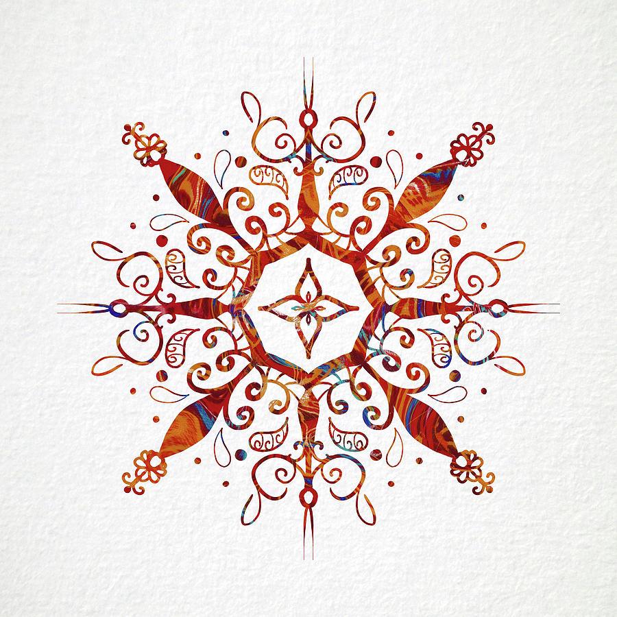 Mandala Mixed Media - Mandala Art 2 by Patricia Lintner
