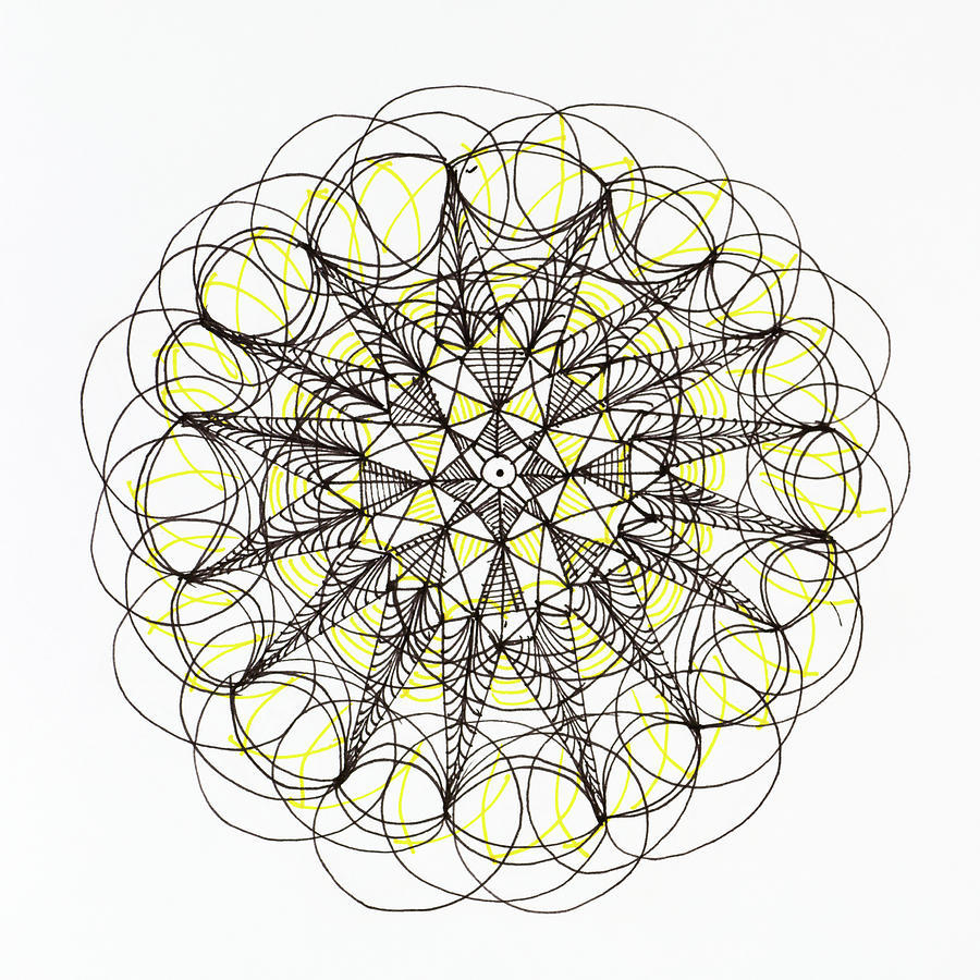 Mandala Design, Freehand