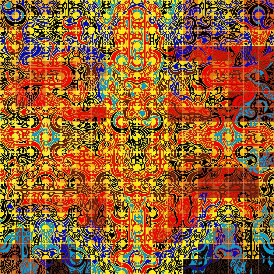 Anubis Digital Art - Minotaure Iv by David Umemoto