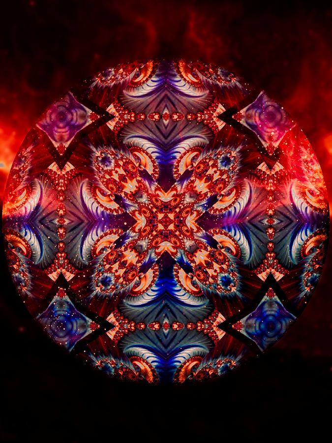 Mandala Magic Digital Art - Mandala Magic by Susan Maxwell Schmidt