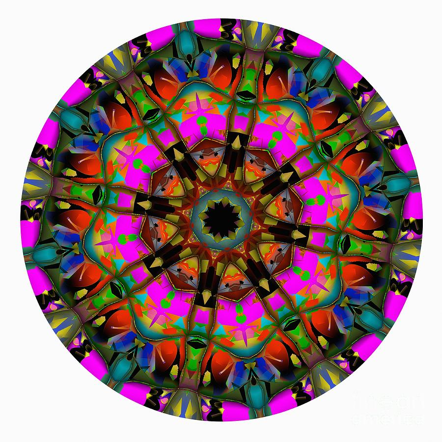 Talisman Digital Art - Mandala - Talisman 1099 - Order Your Talisman. by Marek Lutek
