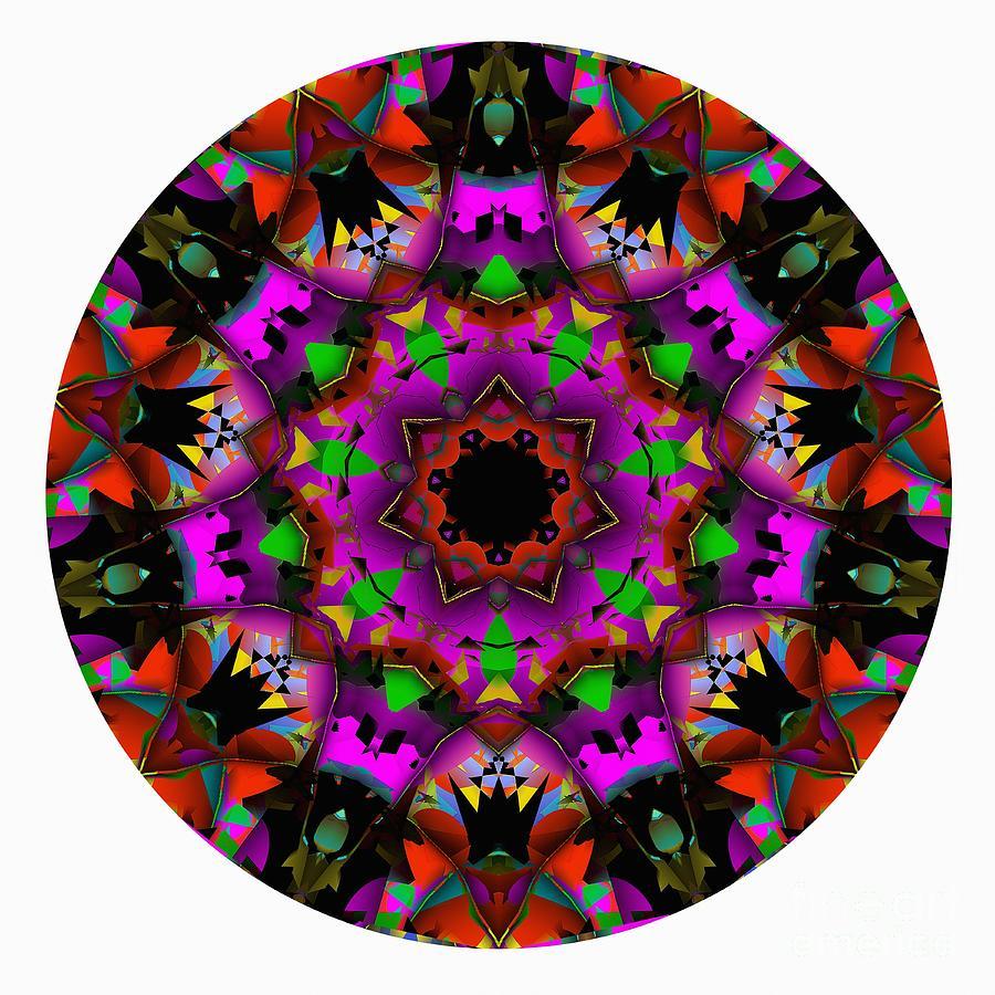 Talisman Digital Art - Mandala - Talisman 1100 - Order Your Talisman. by Marek Lutek