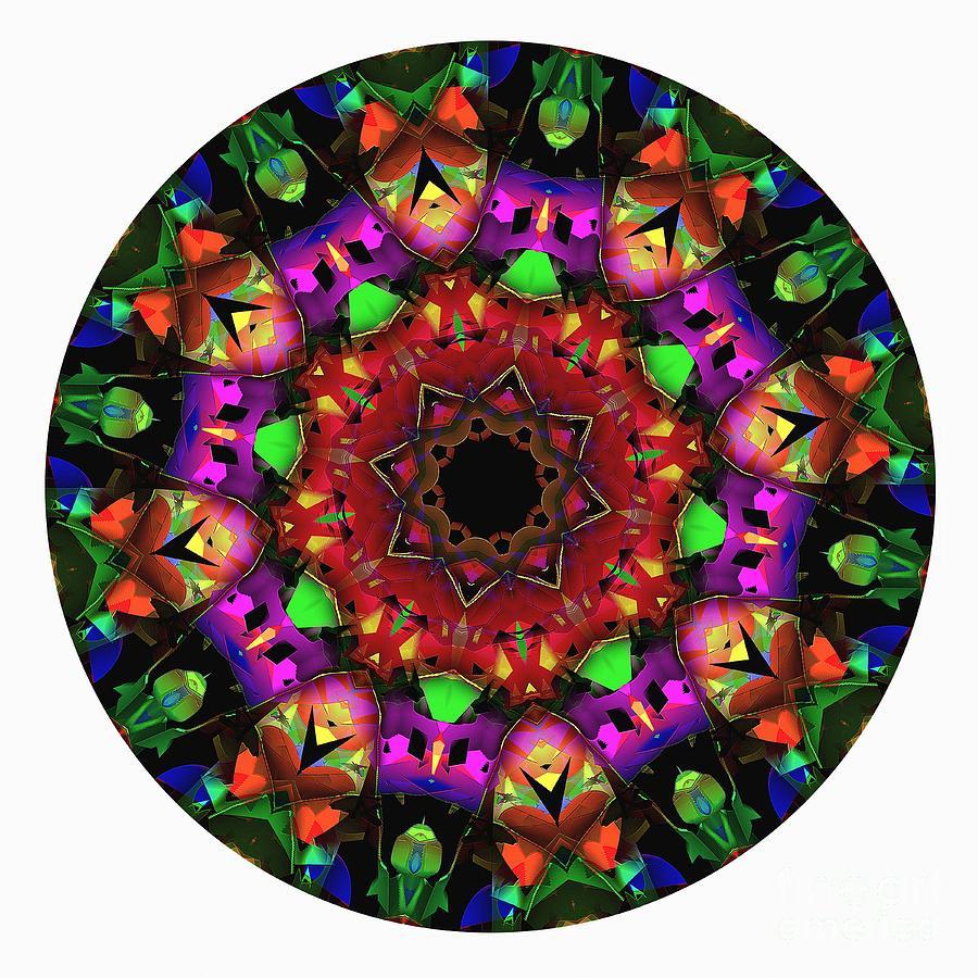 Talisman Digital Art - Mandala - Talisman 1102 - Order Your Talisman. by Marek Lutek