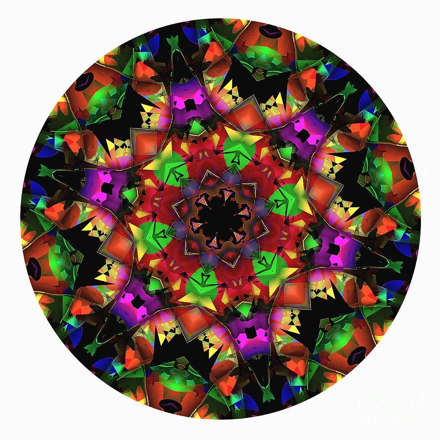 Talisman Digital Art - Mandala - Talisman 1105 - Order Your Talisman. by Marek Lutek