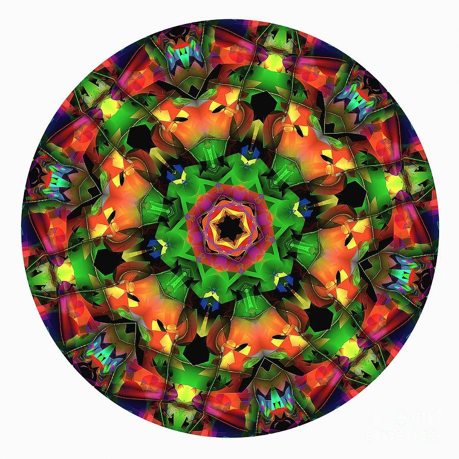 Talisman Digital Art - Mandala - Talisman 1106 - Order Your Talisman. by Marek Lutek