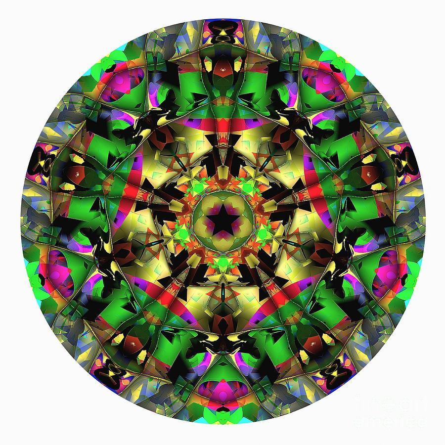 Talisman Digital Art - Mandala - Talisman 1107 - Order Your Talisman. by Marek Lutek
