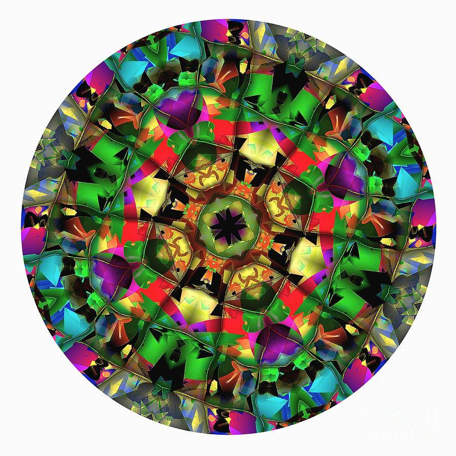 Talisman Digital Art - Mandala - Talisman 1108 - Order Your Talisman. by Marek Lutek