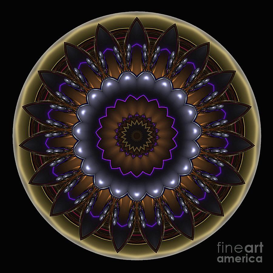 Mandala - Talisman 1485 Digital Art