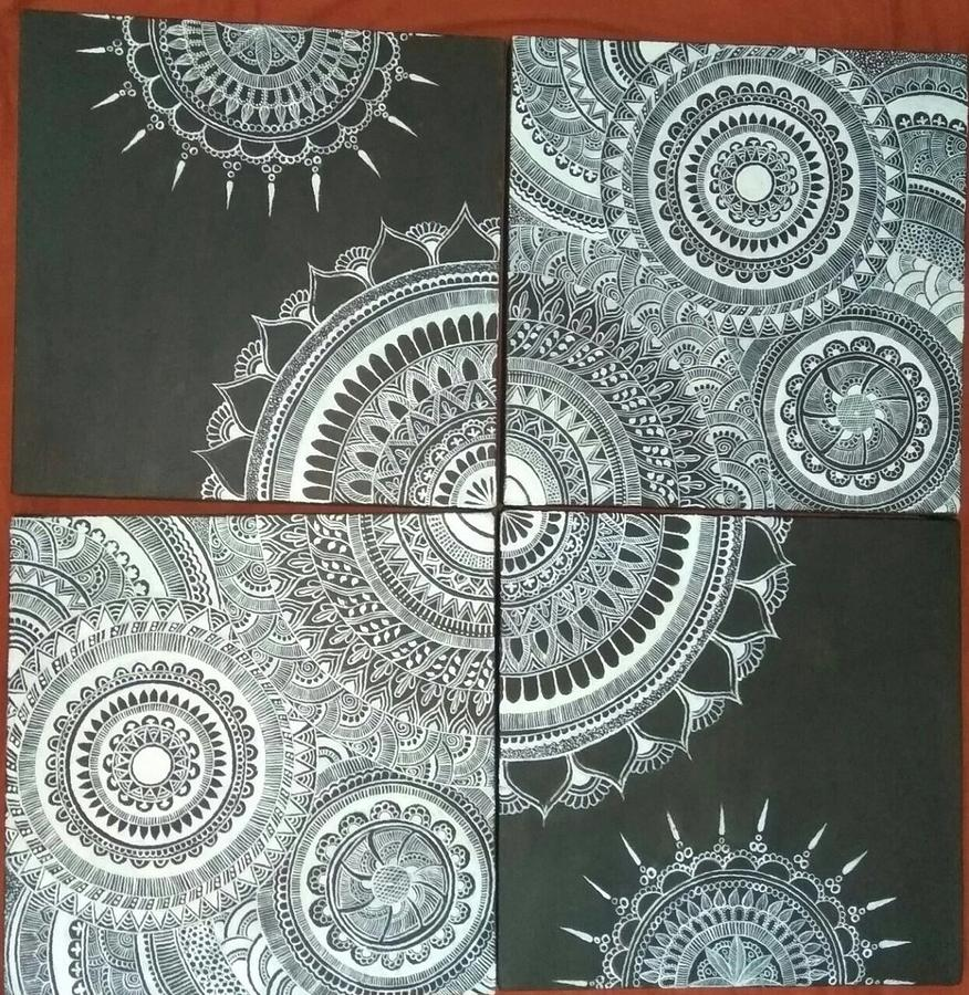 Mandala Wall Decor By Nidhi Marakana