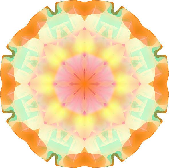 Mandala Digital Art - Mandalas 21 by Andres Alcalde