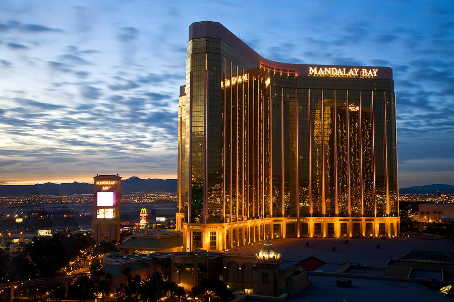 Nevada Photograph - Mandalay Bay Sunrise by James Marvin Phelps