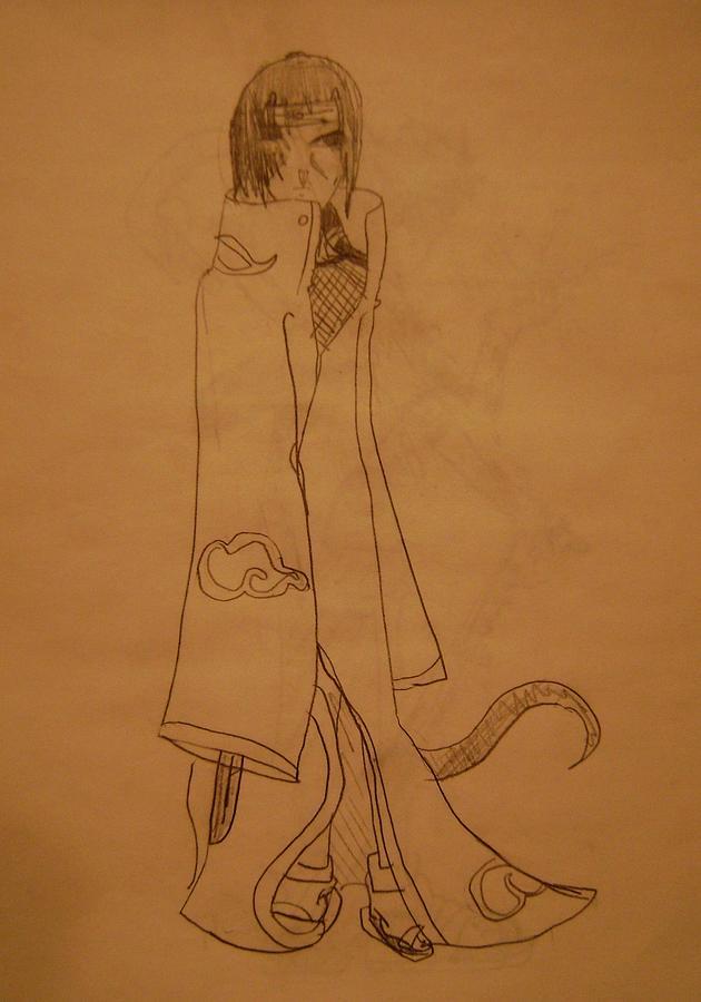 Manga Drawing - Manga Study 3 by Jean-Christophe Trahan