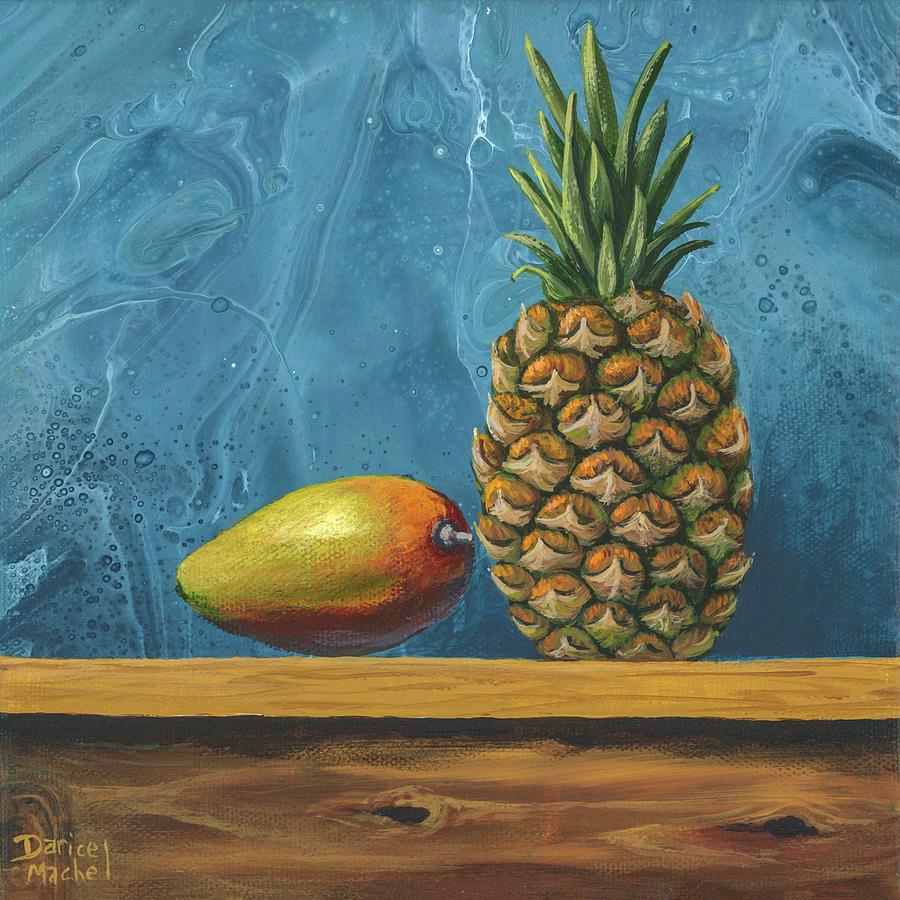 Mango And Pineapple by Darice Machel McGuire