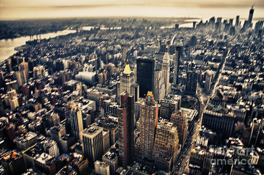 Sky Photograph - Manhattan by Alessandro Giorgi Art Photography