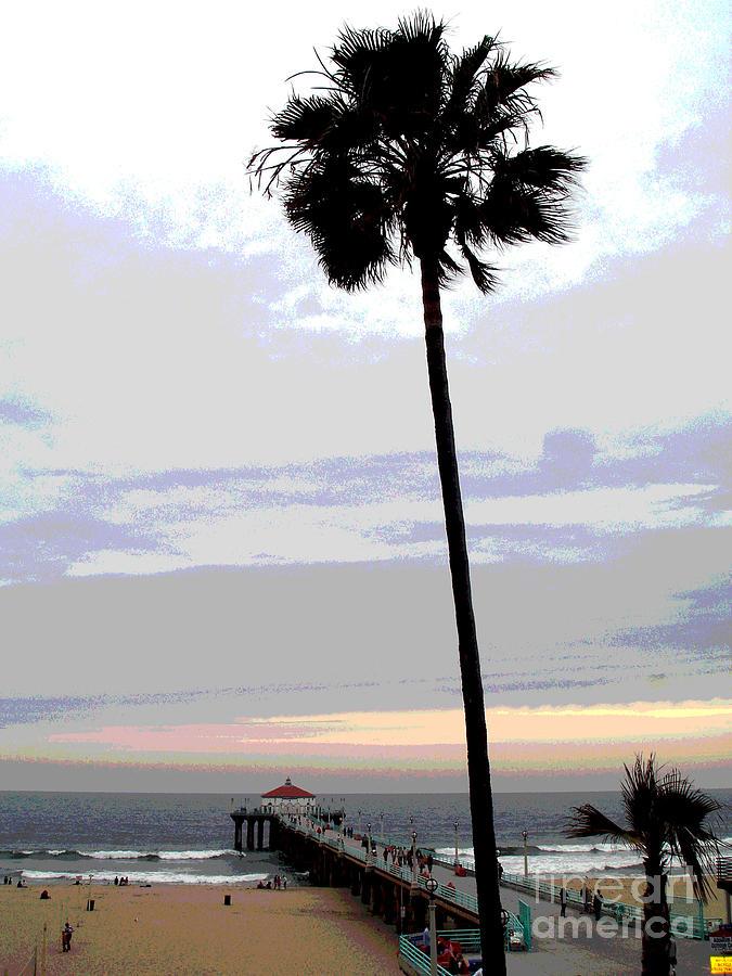Manhattan Beach Ca Photograph By South Bay Skies