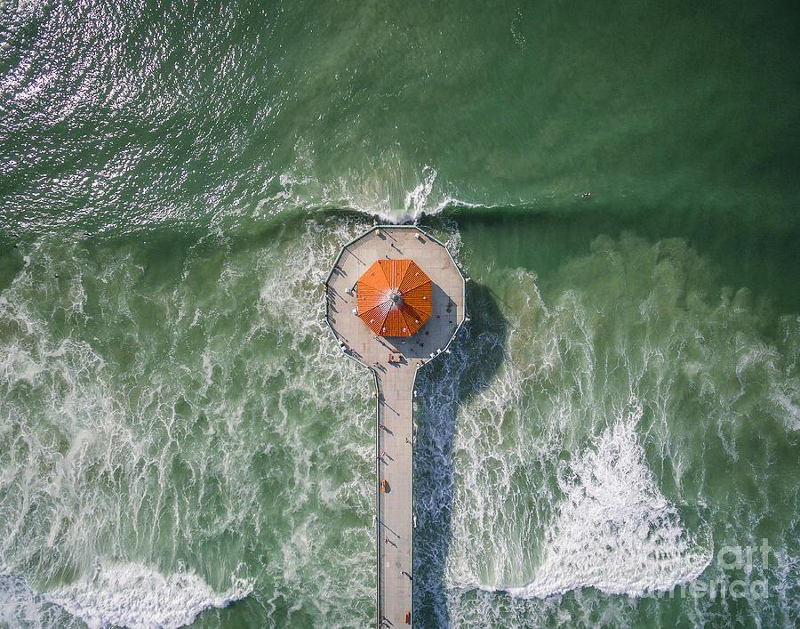 Manhattan Beach Pier Photograph By Art K