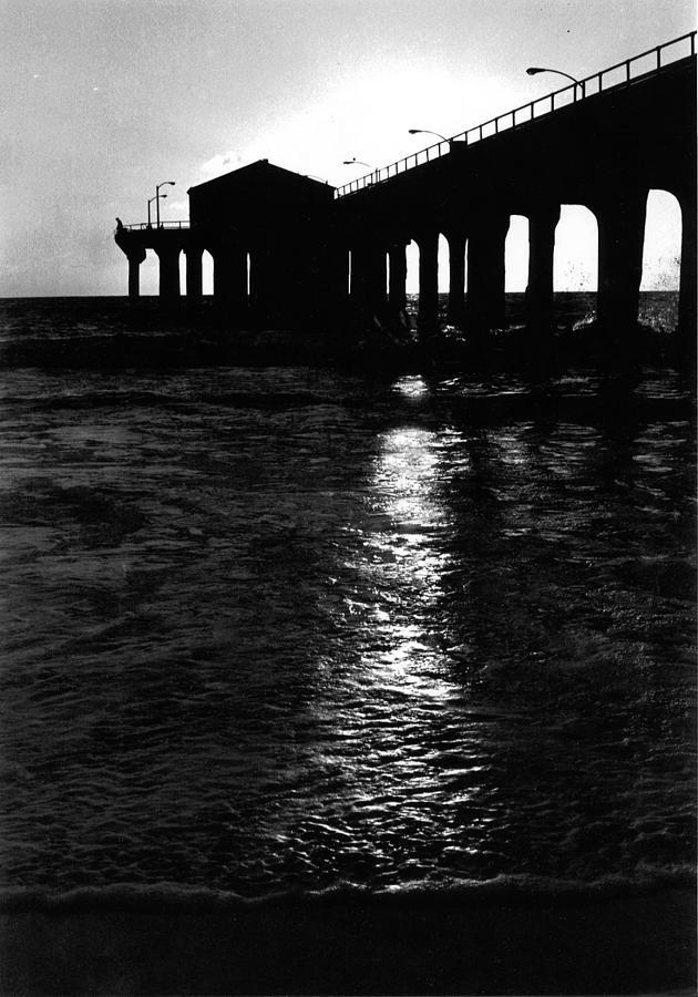 Manhattan Beach Pier Photograph By Carol Neal Chicago