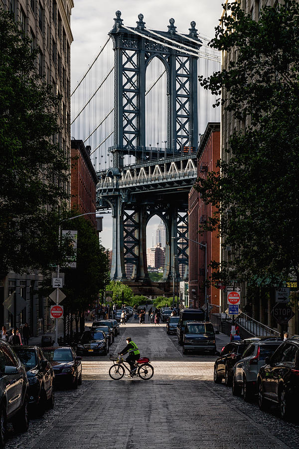 Manhattan Bridge  by Anthony Fields